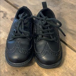 Toddler Boy's Black Dress Shoes